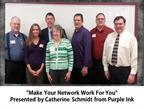 """Making Your Network Work for You"" - Catherine Schmidt, Purple Ink"